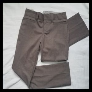 New Gap 4 Wool Blend Curvy Pants Trouser
